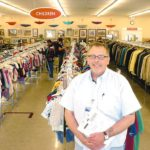 Art Kapa of Sterling Heights manages the Grace Centers of Hope Thrift Store in Warren, which recently celebrated its grand opening and expansion. Kapa left an established career and took the job after making a donation at the Sterling Heights store.